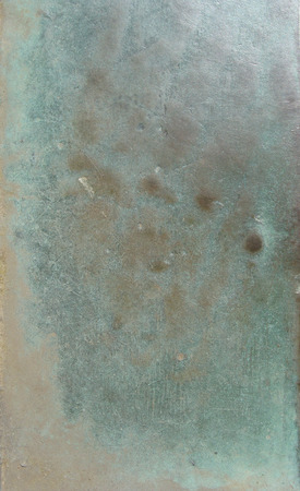 black and blue: grunge bronze surface in black blue green Stock Photo