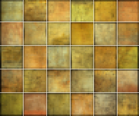 grunge pattern: orange square tile grunge pattern backgrounds collection