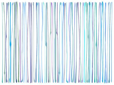 striping: liquid organic blue purple lines pattern over white