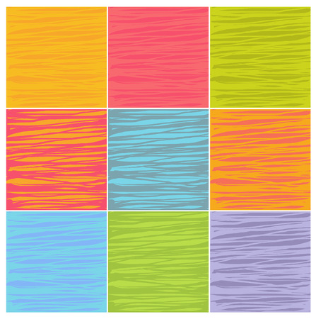 striping: irregular line patterns in multiple colors Illustration