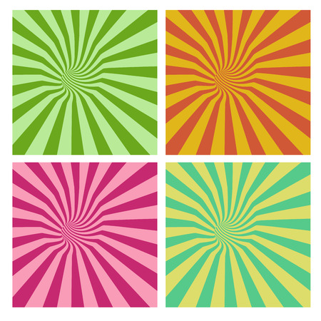 stripe pattern: tunnel vortex in multiple color stripe pattern