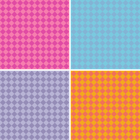 mixed colors: diamond pattern background collection in multiple mixed colors