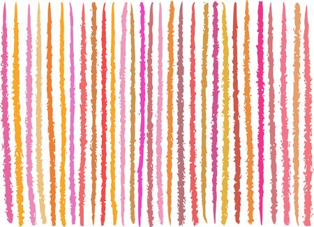 sensitive: irregular orange pink lines pattern over white