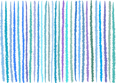 striping: irregular blue purple lines pattern over white Illustration