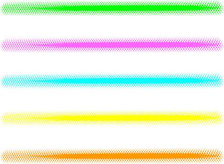 graffiti spray line effect made with halftone Reklamní fotografie - 46240517