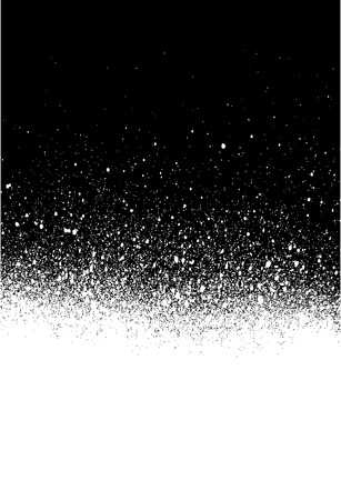 spray painted gradient detail in white over black Illustration