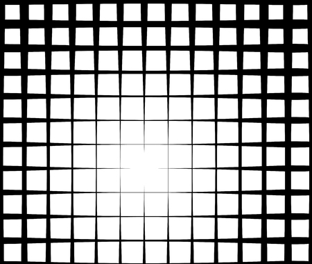 luminance: grid light effect background in black and white