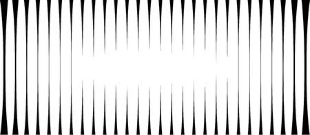 luminance: striped light effect background in black and white Illustration