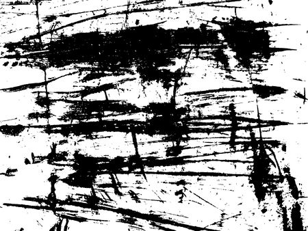 scuffed: grunge damaged paint on metal surface texture Illustration
