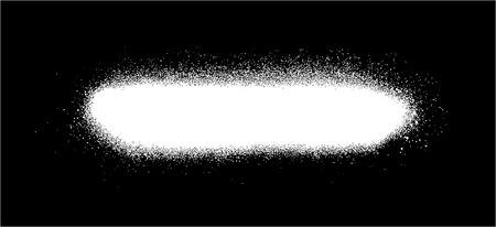 sprayed: graffiti sprayed line design element in white on black