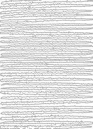dotted lines pattern background in black and white Ilustração