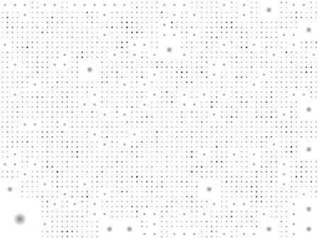 grouping: dotted pattern background in black and white