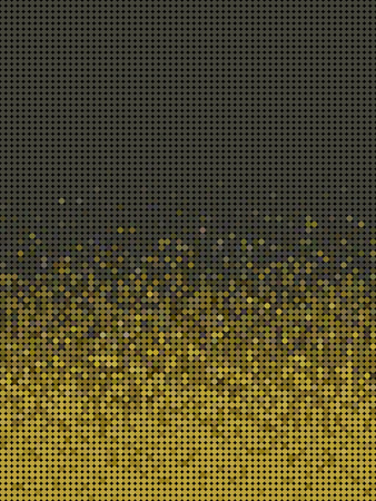 grouping: bubble gradient pattern in green brown and yellow