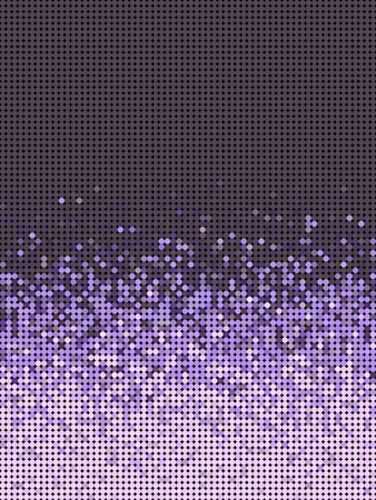 grouping: bubble gradient pattern in purple and lavender Illustration