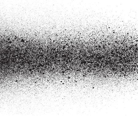 白で黒のグラデーションの細部を塗装スプレー