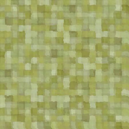 mixed green patchwork blurry square pattern background Ilustração