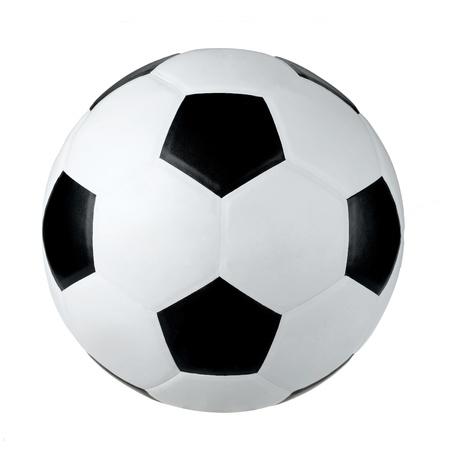 sporting goods: F�tbol unos art�culos deportivos aislados en fondo blanco