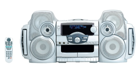 cd player: Stereo audio DVD CD player for your home entertainment
