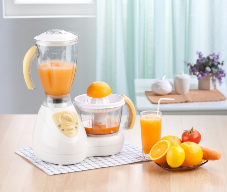 Eletric juice blender machine the home appliance  photo