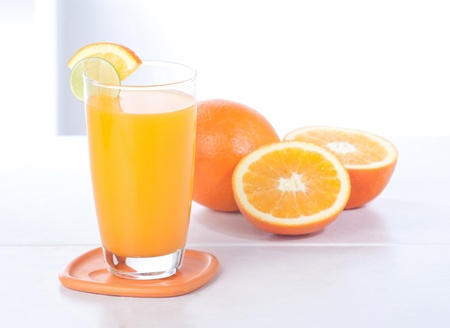 Healthy drinks orange juice great for your body organ Stock Photo - 15671532
