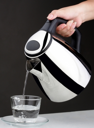 electric kettle: Nice design of chrome kettle water boiler