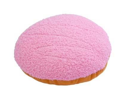 Colorful donut pillow style nice idea to create for your living room Stock Photo - 15732937