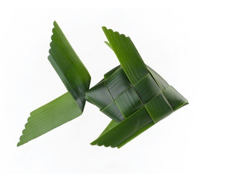 toy fish: Toy fish made from coconut leaf it