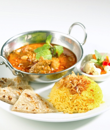 beef curry: indian sytyle food Stock Photo
