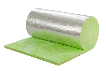 foil roll: Roll of insulator sheet to use beneath the roofing for heat or cold protection in any daytime or seasons