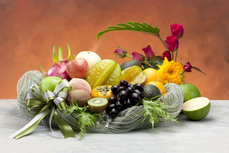 All seasons tropical fruits the freshness from nature Stock Photo - 15821812