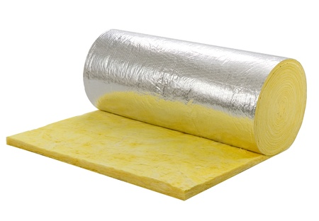 the insulator: Roll of insulator sheet to use beneath the roofing for heat or cold protection in any daytime or seasons
