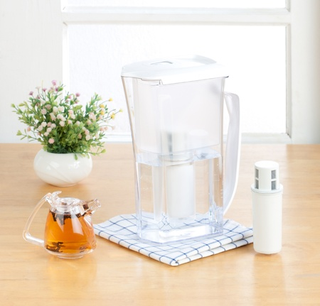 purify: Kettle purify drinking filter machine tool  Stock Photo