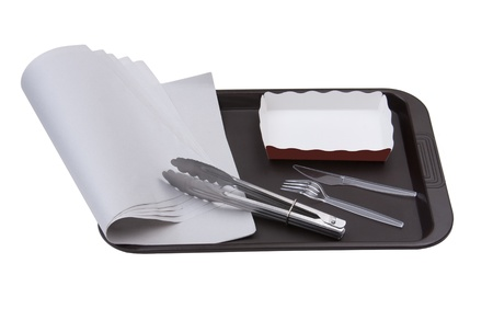 Bakery wrapping and package tool for delivery Stock Photo - 15846461