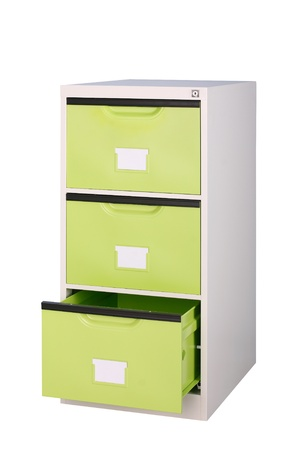 the bright green cabinet to suit your new office photo