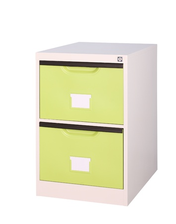 Colorful bright green cupboard great for storage and keep stuffs orderly Stock Photo - 15964421