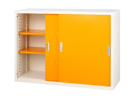ornage: cute and ornage cabinet useful for keep all data document or files