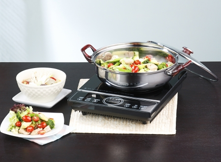 Frying pan and electric stove kitchenware accessories