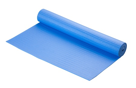Yoga mat soft and great tool for your exercise or relaxation photo