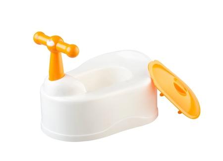 isolates: baby toilet isolates on white