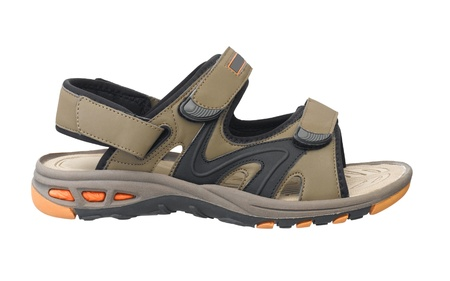 Nice and compact sandal for walking traveling hiking and leisure in casual style photo