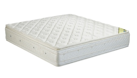 Mattress the bedding accessories isolated  Stock Photo - 16446534