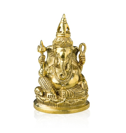 Statue of Ganesha a god of fine art  photo