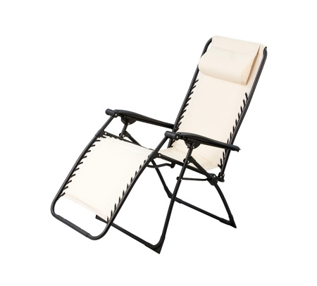 bendable: Relaxing chair isolated Stock Photo