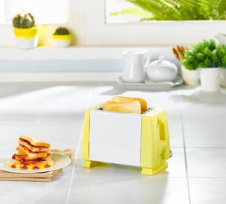toaster: Bread toaster a useful kitchenware
