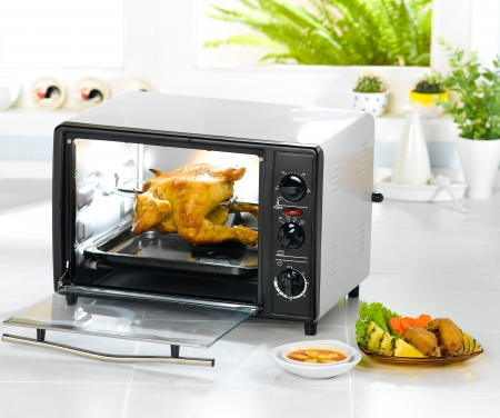 microwave oven: Electric chicken roast oven fast and convenience kitchenware