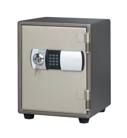 security safe to keep your importance stuffs or belongings photo