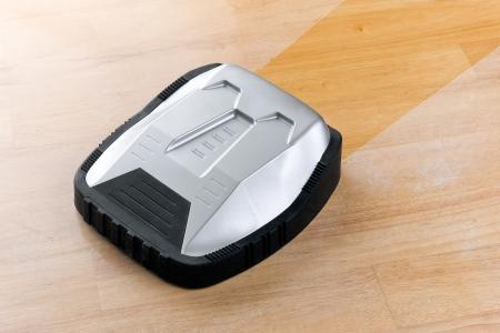 청소기 로봇 진공 청소기 스톡 사진