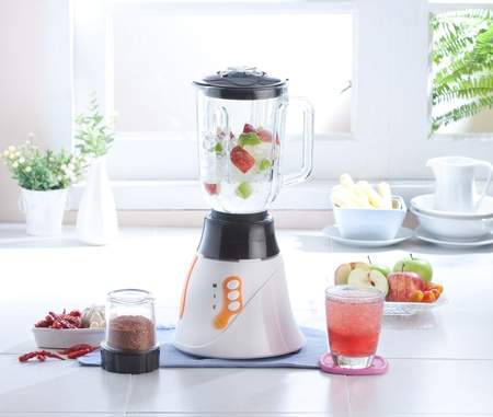 Multiple purpose blender machine great for blending foods and juice Stock Photo - 16446508