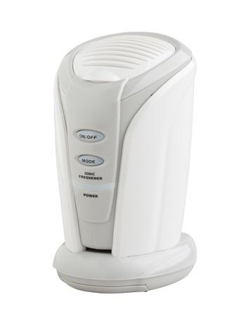 expel: Mini ionic machine air refresher isolates  Stock Photo