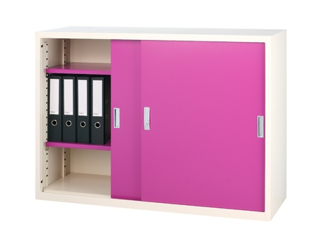 office cabinet: Colorful steel cabinet office furniture in purple color